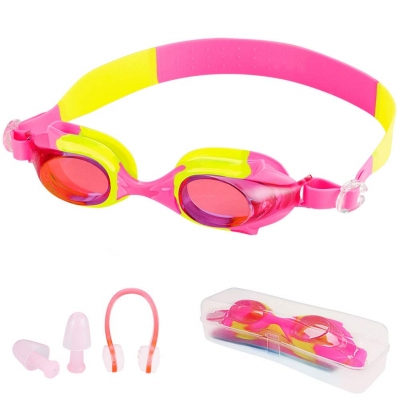 Kids Swimming Goggles-Pink