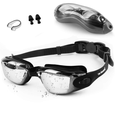Swim Goggles for Adult-Black