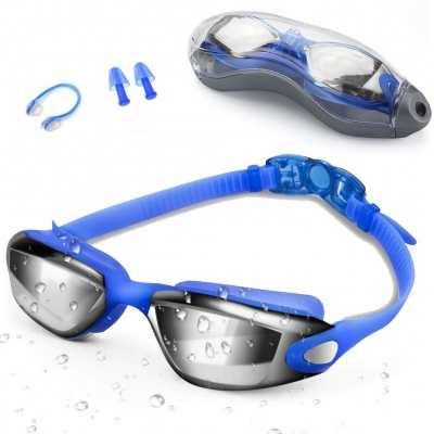 Swim Goggles for Adult-Blue